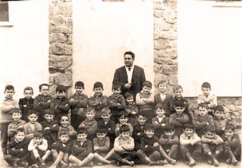 Foto antigua de la escuela de San Martín de Trevejo ...
