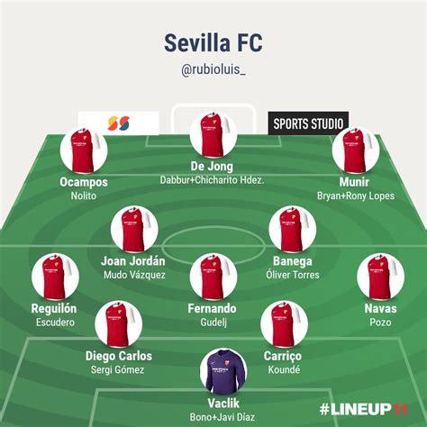 Foto: Así ha quedado la plantilla del Sevilla FC por ...