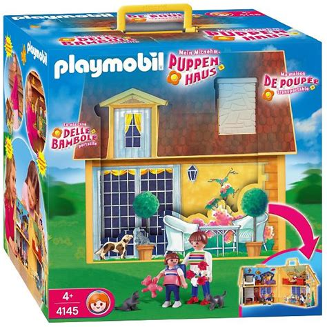 Foto Casa de muñecas maletín Playmobil foto 211629