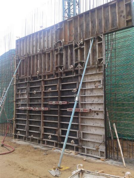 Foto: Encofrado de Muro de Sotano de Francisco Javier ...