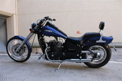 Foto Leonart spyder II 125/350, fotografia lateral moto
