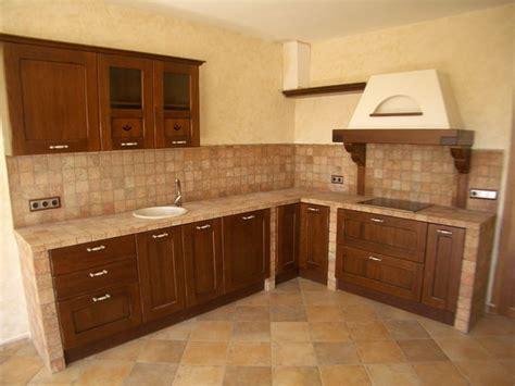 Foto modelo muebles cocina madera rustico 08Muebles de ...