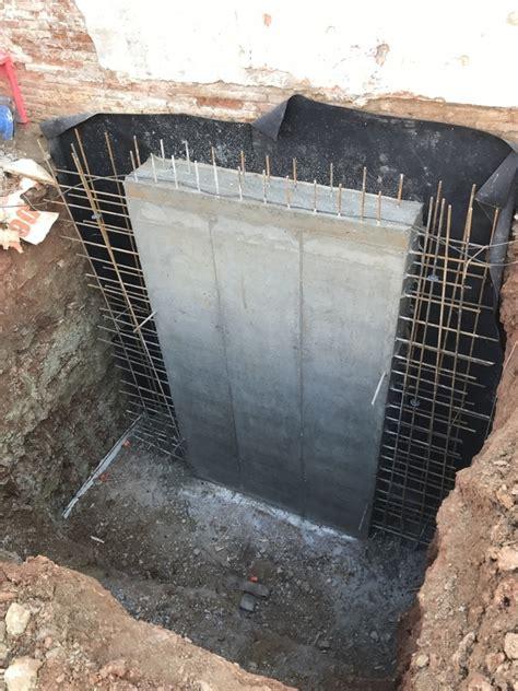 Foto: Muro de Hormigón Ejecutado por Bataches de ...