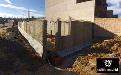 Foto: Muros de Sótano, Construcción Vivienda Adosada de ...
