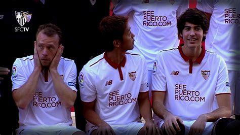 Foto oficial del Sevilla FC para la temporada 2016/17 ...