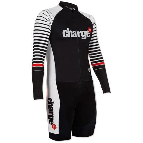 Foto Traje ciclista dhb   Charge Skin   Large Black/White ...