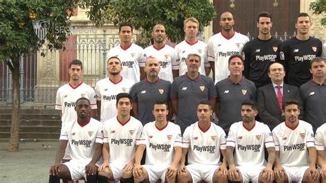 Fotografía oficial Sevilla FC 2017/2018   YouTube