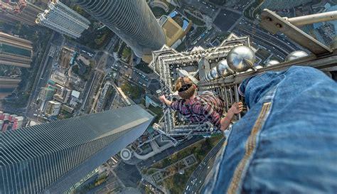 Fotografías extremas desde uno de los edificos más altos ...
