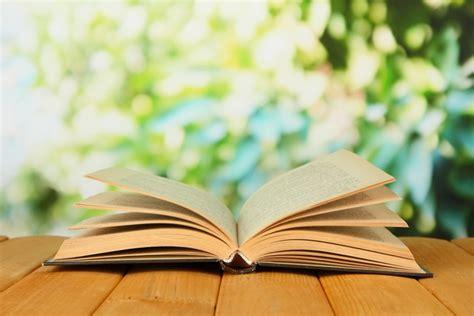 Fotomural Libro abierto sobre fondo brillante • Pixers ...