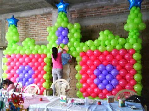 Fotos de Decoración con Globos para Fiestas Infantiles ...