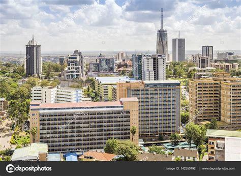 Fotos de Paisaje urbano de Nairobi   capital de Kenia ...