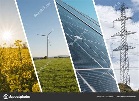 Fotos: energia renovable   collage de la energía renovable ...