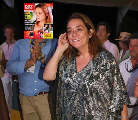FOTOS EXCLUSIVAS Toñi Moreno se lleva un susto en su embarazo