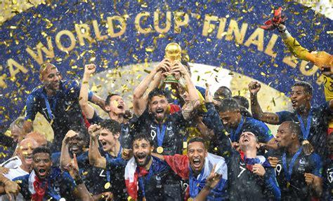 Fotos: Las celebraciones de Francia tras ganar el Mundial ...