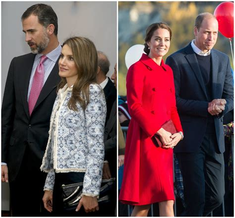Fotos: Letizia Ortiz y Kate Middleton, duelo de estilo ...
