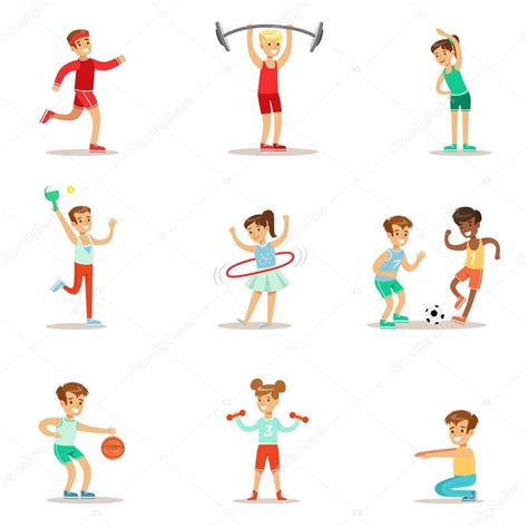 Fotos: niños haciendo educacion fisica | Niños practicando ...