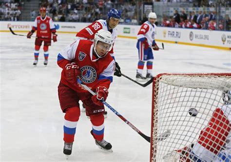 Fotos: Putin se luce al hockey con siete goles ...