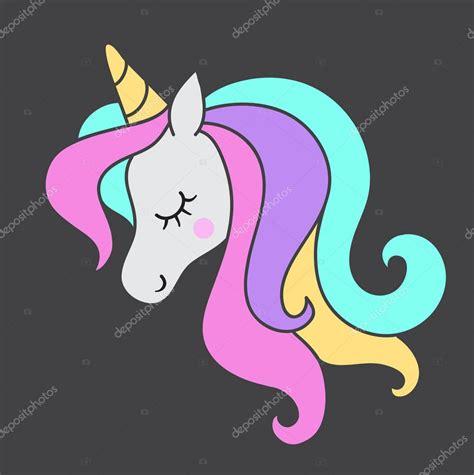 Fotos: unicornios para imprimir | Cabeza Unicornio ...