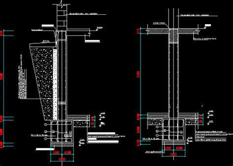 Foundations To A Basement DWG Detail for AutoCAD • Designs CAD