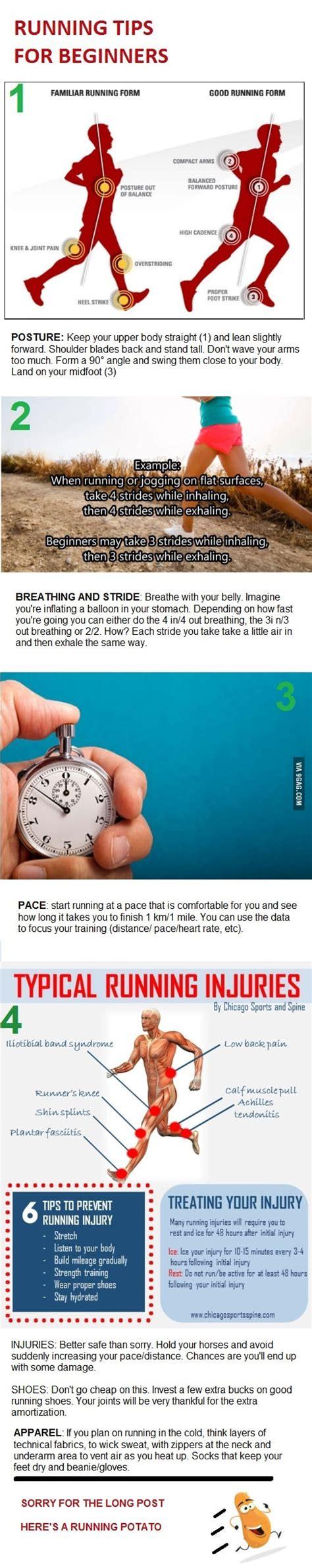 Four basic running tips for beginners. | Running tips