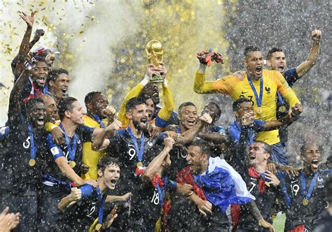 France claims first World Cup since 1998 with 4 2 win ...