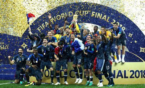 France Win FIFA World Cup, Croatia Win Hearts in Dream ...