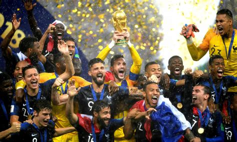 France win World Cup after beating Croatia in Moscow thriller