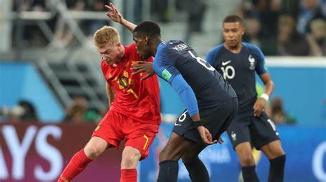 Francia 1   0 Bélgica: resumen, resultado y gol. Mundial ...