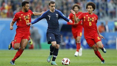 Francia   Bélgica: el Mundial de Rusia de Fútbol 2018, hoy ...