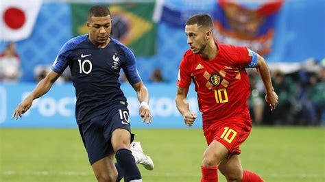 Francia   Bélgica: El partido de fútbol, en directo