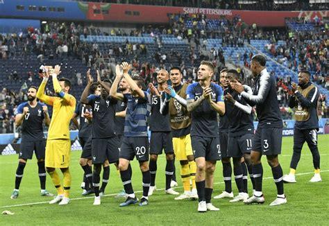 Francia   Bélgica: las mejores imágenes del partido ...