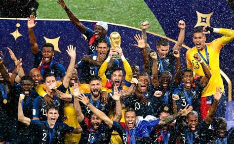 Francia encabeza el ranking de la FIFA tras ganar Mundial ...
