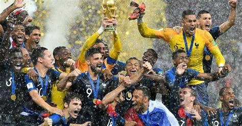 Francia es campeón del mundial por segunda vez en su ...