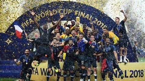 Francia es el campeón del Mundial de Rusia 2018   Mundial ...