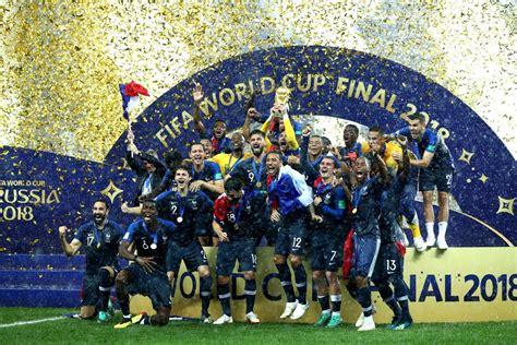 Francia levanta por segunda vez la Copa Mundial masculina ...