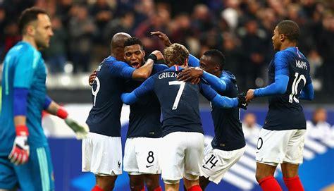 Francia presenta lista de 23 convocados para el Mundial ...