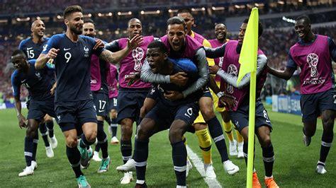 ¡Francia se corona por segunda vez como campeona mundial ...