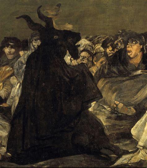 Francisco de Goya:  El aquelarre, o El gran cabrón ...