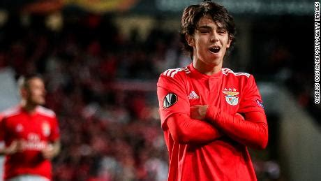 Frankfurt v Benfica: Joao Felix    the teen who is a  star ...