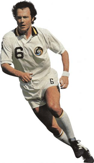 Franz Beckenbauer football render   62217   FootyRenders