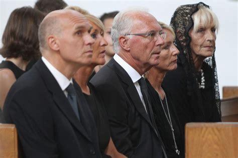 Franz Beckenbauer, Heidi Beckenbauer, Thomas Beckenbauer ...
