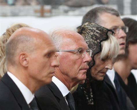 Franz Beckenbauer, Thomas Beckenbauer, Michael Beckenbauer ...