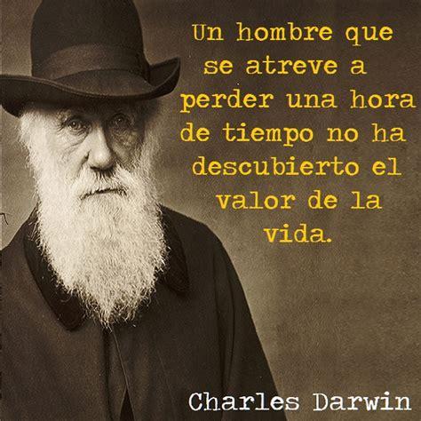 Frase De Charles Darwin   Labrego
