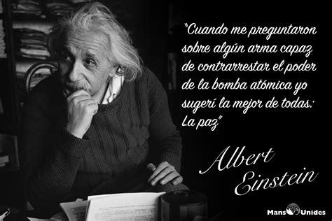 Frases Albert Einstein   Mans Unides