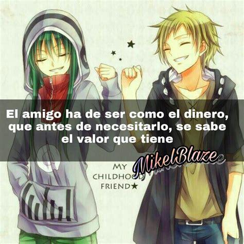Frases anime, amistad | anime | Anime amistad, Frases ...