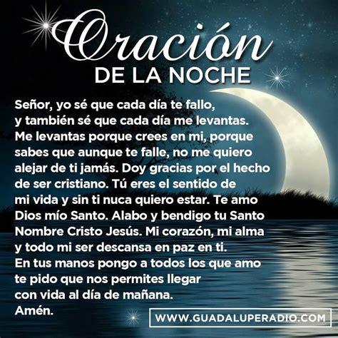 Frases Bonitas Para Facebook: Oracion De La Noche
