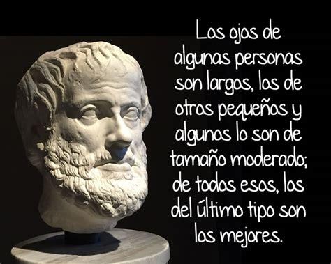 Frases célebres de Aristóteles y su biografía