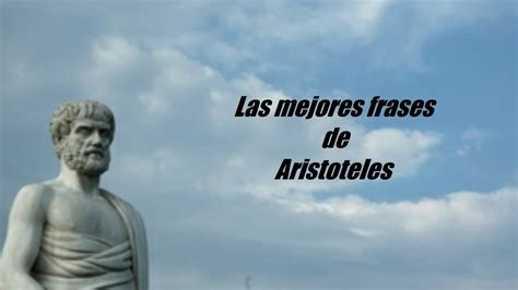 Frases célebres de Aristóteles   YouTube