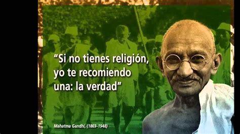 Frases célebres de Mahatma Gandhi   YouTube