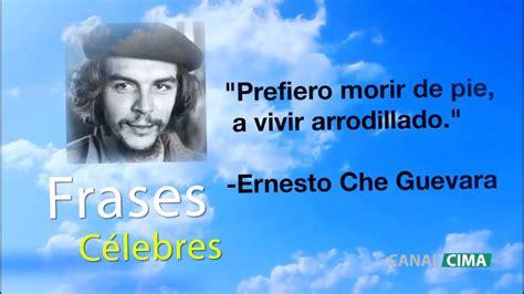 Frases Célebres   Ernesto Che Guevara   YouTube